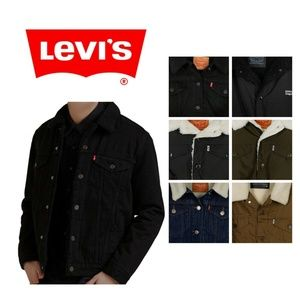 Levi's Men's Sherpa Lined Trucker Jacket